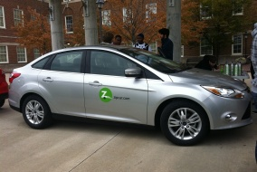 Tufts students will be able to use Zipcar as an alternative to OCL's van service.
