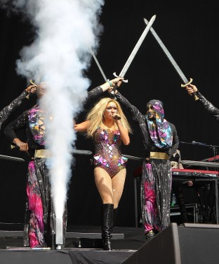 Kesha Performs At Wireless Festival - London