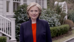 Video grab of Hillary Rodham Clinton announcing that she would seek the presidency for a second time, immediately establishing herself as the likely 2016 Democratic nominee, in Washington, DC, USA on April 12, 2015. Photo by ABACAPRESS.COM