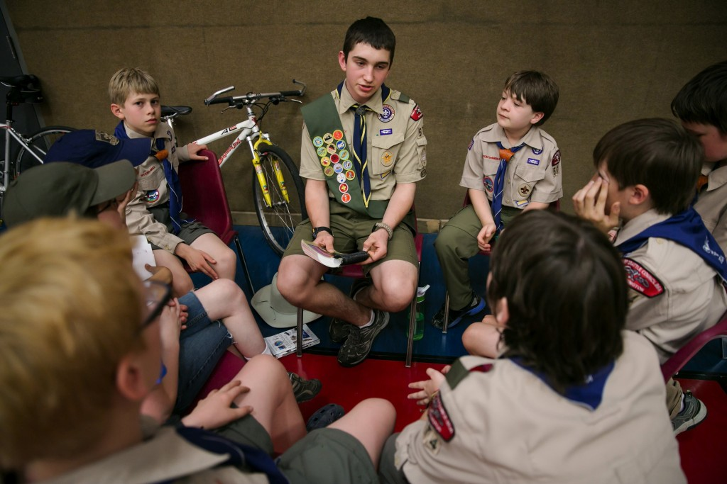 tufts camp study finds boy scouts helps build character according to