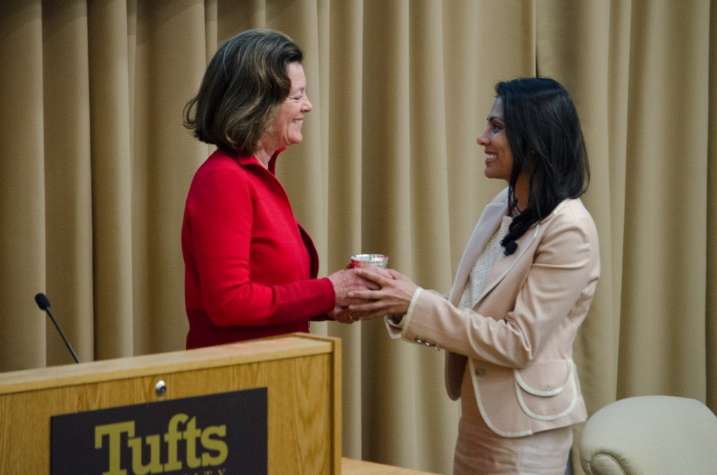Infectious disease physician, Tufts alumna honored at 2016