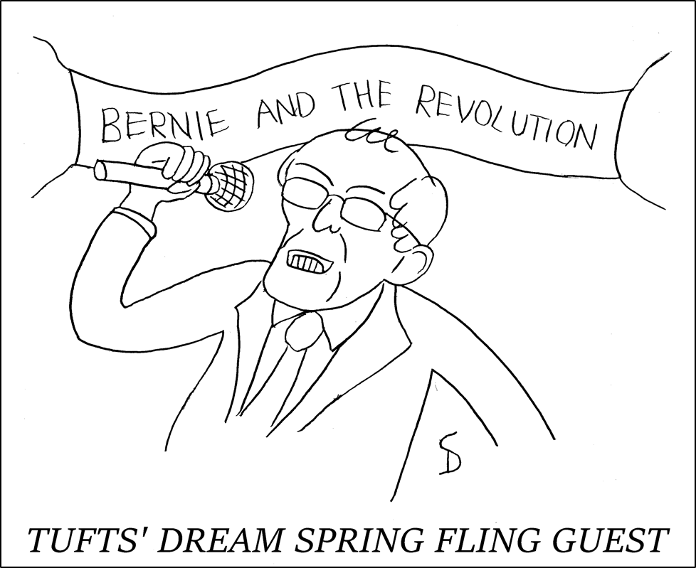 Tufts' dream Spring Fling guest