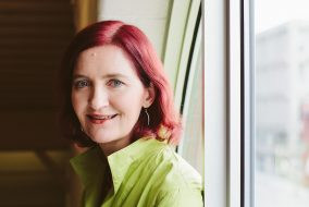 """Emma Donoghue, who wrote """"The Wonder,"""" in 2013. (Courtesy Punch Photographic for author website)"""
