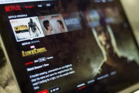 "The homepage of Netflix, currently featuring the original series ""Luke Cage,"" on Oct. 5. (Max Lalanne / The Tufts Daily)"