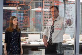 "Ben Affleck stars with Anna Kendrick in ""The Acccountant."" (Chuck Zlotnick via Warner Bros.)"
