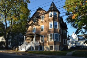 The International House has been located at 13 Sawyer Ave. for more than 3 decades. (Zach Sebek / The Tufts Daily)