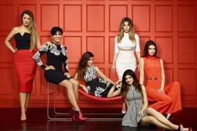 "The cast of ""Keeping Up With the Kardashians,"" from left: Khloe Kardashian, Kris Jenner, Kourtney Kardashian, Kim Kardashian, Kylie Jenner and Kendall Jenner. (Brian Bowen Smith/E!)"