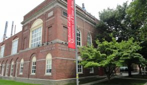 The School of the Museum of Fine Arts, now integrated into Tufts University, is pictured in July 2011. (Wikimedia Commons)