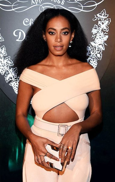 Solange Knowles at the From Earth to Heart Event at The W Hotel in December 2015. (Claire Sulmers via Wikimedia Commons)