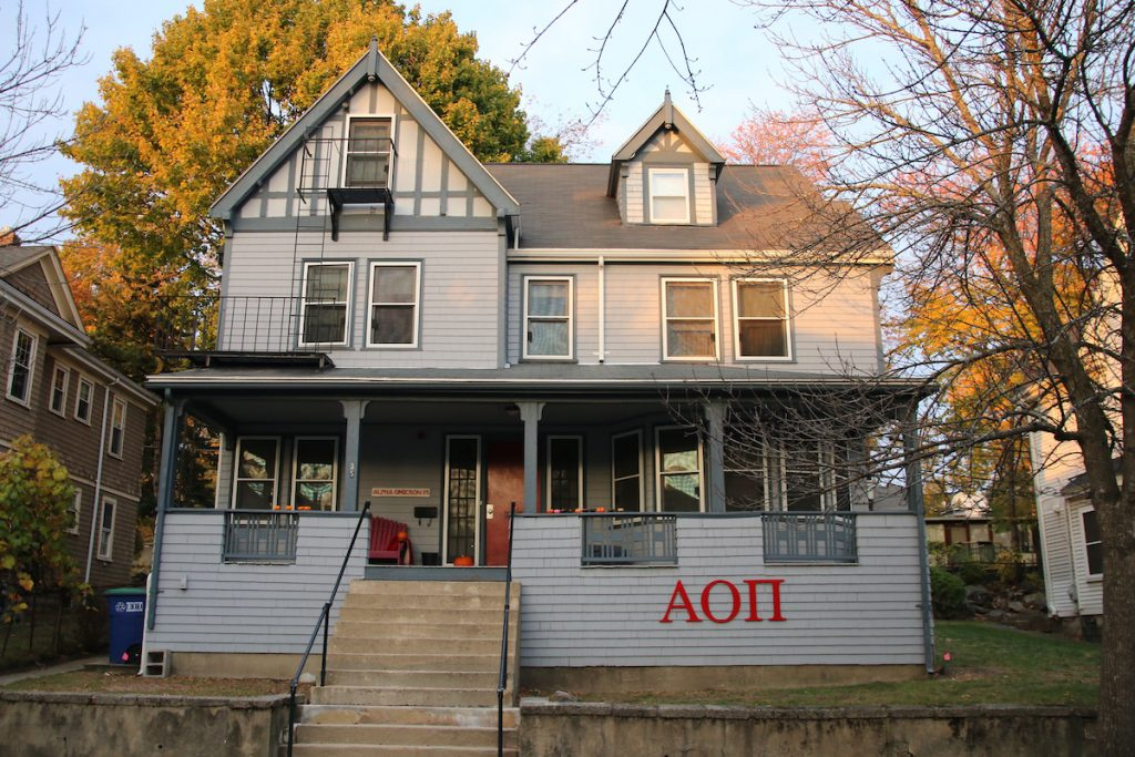335ee2f160f Half of AOII Delta sisters drop to protest international organization