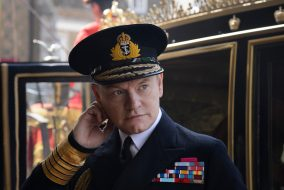 Jared Harris plays King George VI in Netflix's 'The Crown.' (Alex Bailey / Netflix)