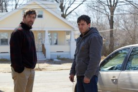 """Manchester by the Sea,"" starring Casey Affleck and Kyle Chandler, is currently on limited release until mid-December. (Claire Folger / Sundance)"