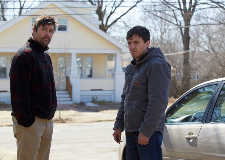 """""""Manchester by the Sea,"""" starring Casey Affleck and Kyle Chandler, is currently on limited release until mid-December. (Claire Folger / Sundance)"""