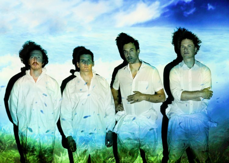 Guster is an indie rock band consisted of Ryan Miller, Adam Gardner, Brian Rosenworcel and Luke Renyolds. (Zoe-Ruth Erwin / Nettwerk)