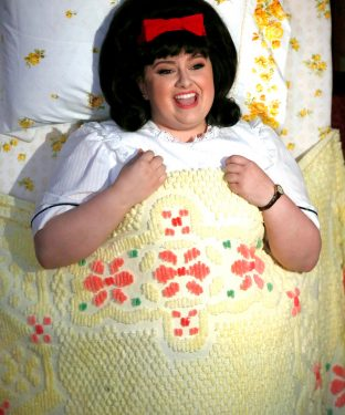 """Maddie Baillio plays Tracy Turnblad in """"Hairspray Live!,"""" which aired on Dec. 7. (Justin Lubin for NBC)"""