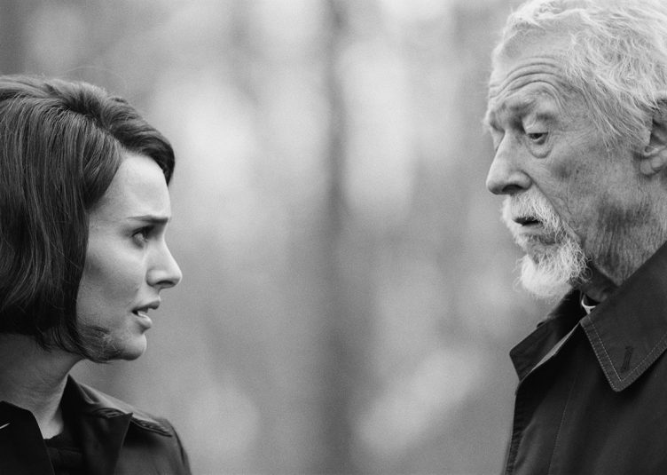 """""""Jackie,"""" starring Natalie Portman in the titular role and Sir John Hurt as Father Richard McSorley, was released on Dec. 2. (Courtesy Fox Searchlight)"""