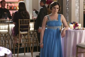 "Rachel Bloom stars as Rebecca Bunch in the finale of the first season of ""Crazy Ex Girlfriend"". (Photo courtesy The CW.)"