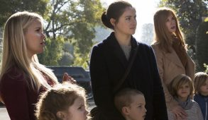 From left: Reese Witherspoon, Shailene Woodley and Nicole Kidman star in 'Big Little Lies.' (Courtesy HBO)