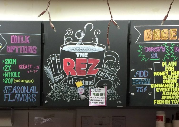 The Rez frequently updates its characteristic menu. (Courtesy The Rez)