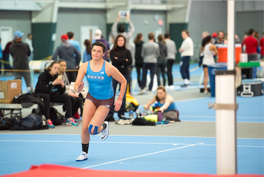 Bowman sets school record in the mile to lead Jumbos at BU