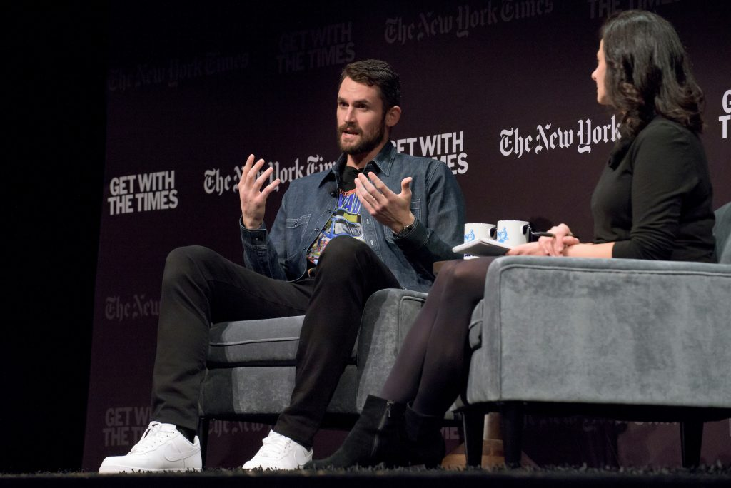 Kevin Love Discusses Mental Health Activism At The New York Times