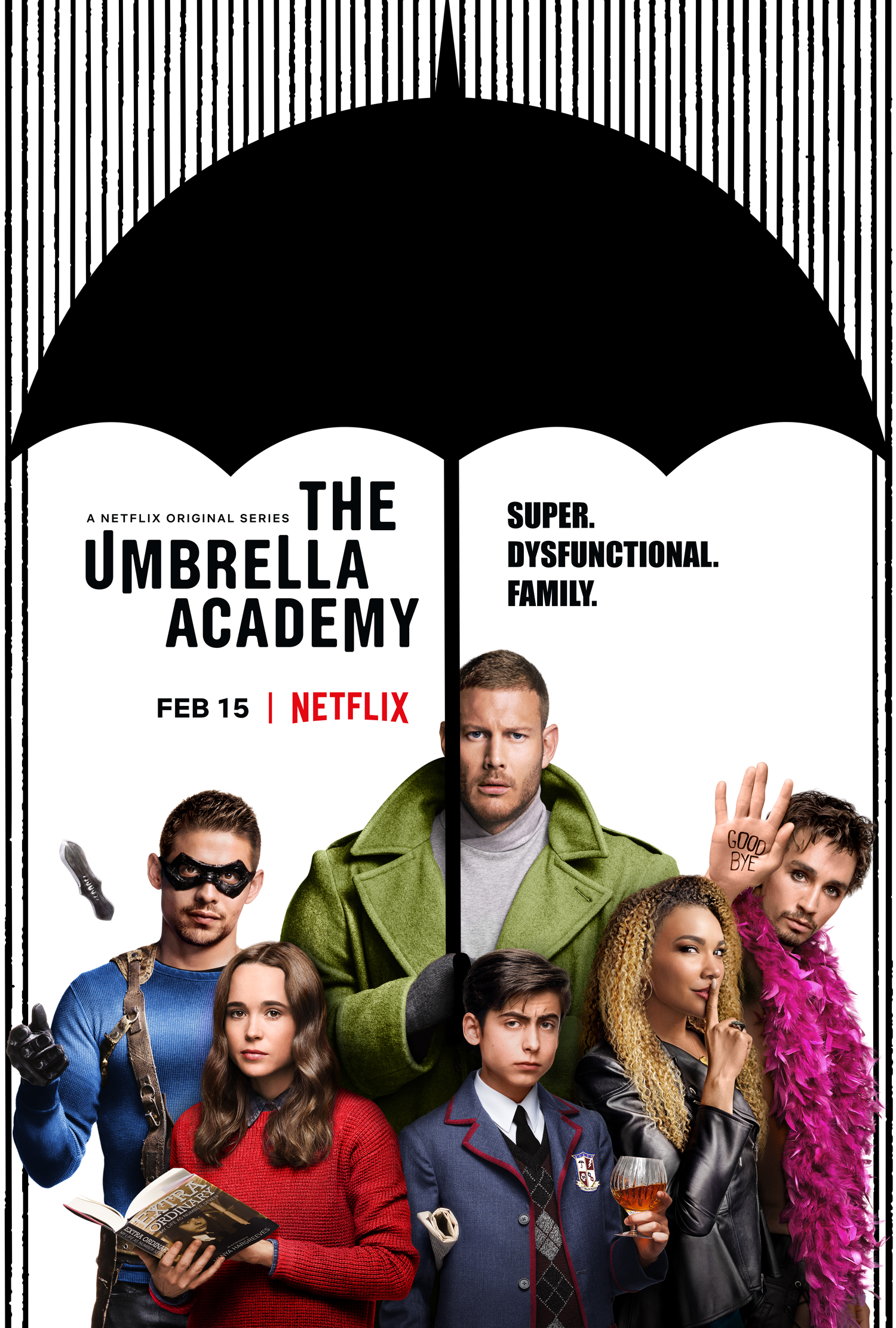 Netflix's 'The Umbrella Academy' carves new niche in superhero ...