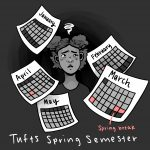 Tufts Spring Break Cartoon
