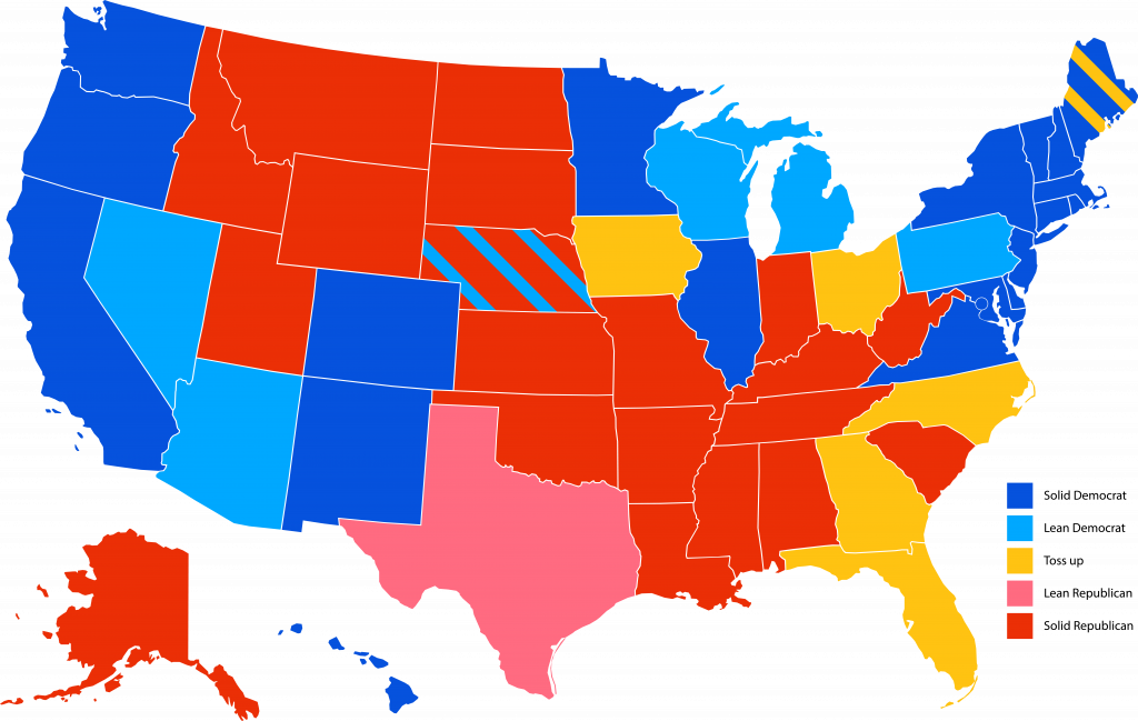 Image of: 2020 Electoral Map The Tufts Daily