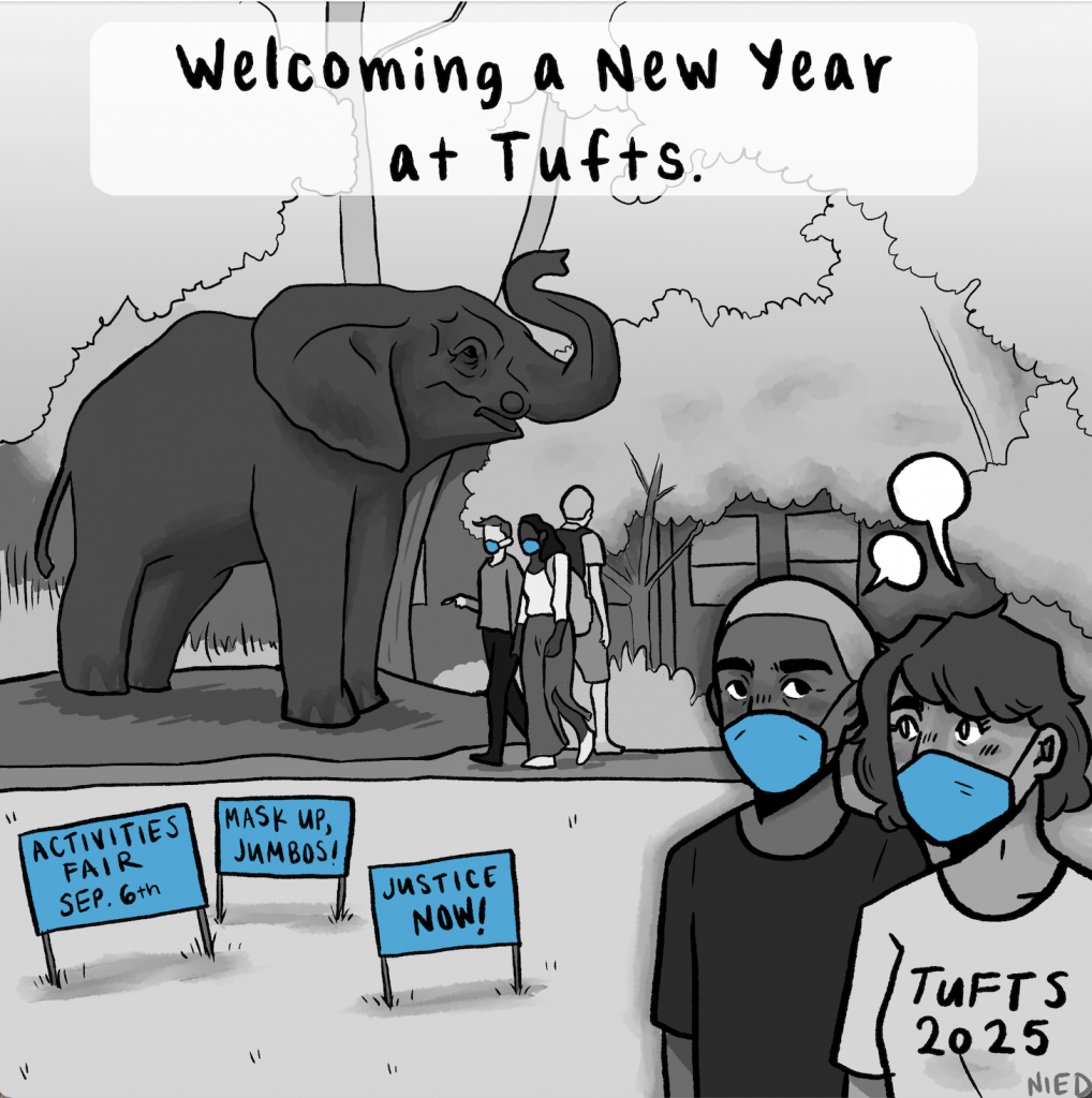 Welcoming a new year at Tufts Viewpoint